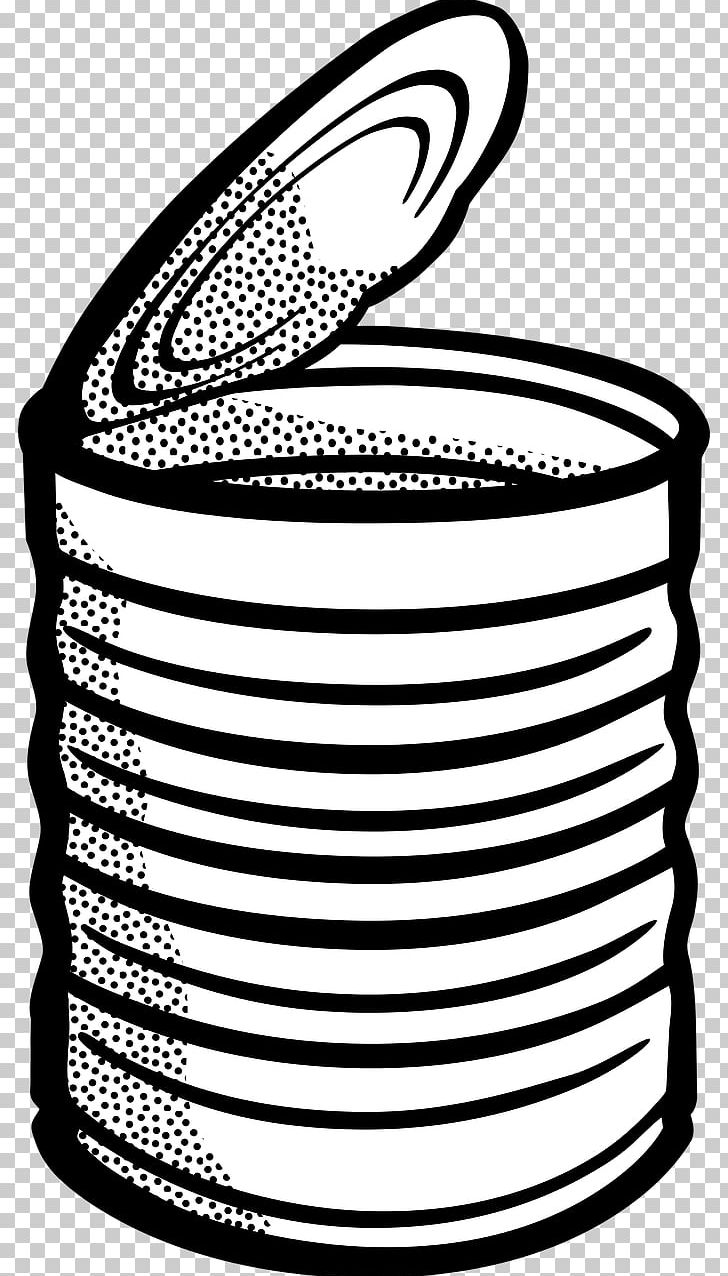 Tin Can Desktop PNG, Clipart, Area, Beverage Can, Black.