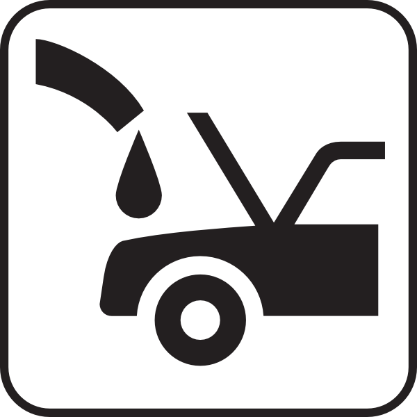 Oil Can Car Clipart.