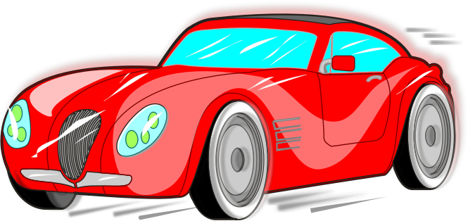 Free to Use & Public Domain Sports Car Clip Art.