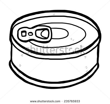 Tin Clipart Black And White & Free Clip Art Images #30263.