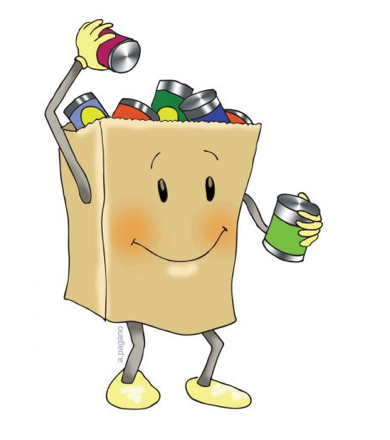 Food drive clip art from the PTO Today Clip Art Gallery..