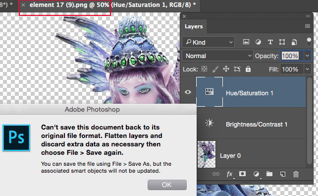 Editing Smart Objects—PNG & JPEG.