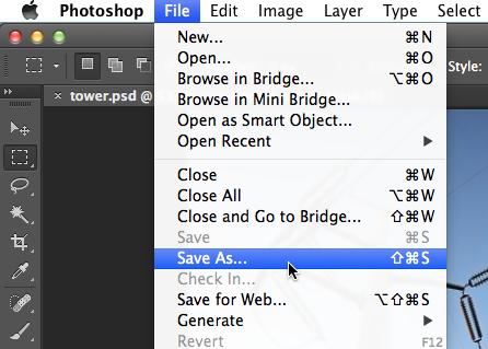 Photoshop Basics: Saving Images.