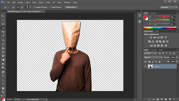How to Remove the Background of a Photo in Photoshop or PowerPoint.