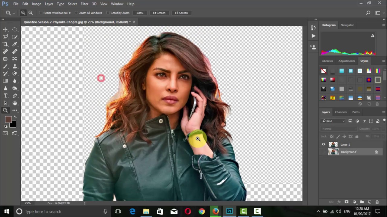 How to Make PNG transparent image in photoshop quickly very fast way.