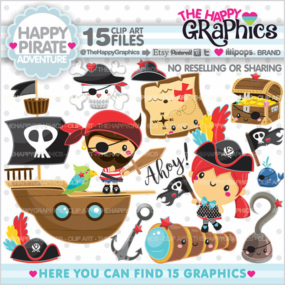 Pirate Clipart 80%OFF Pirate Graphic COMME #151322.