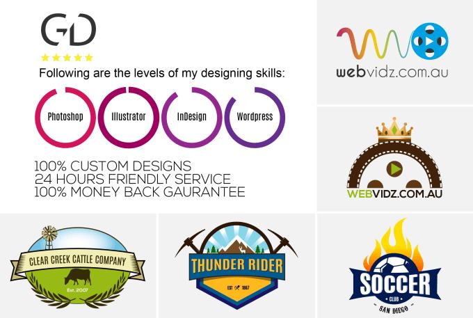create unique professional business logo.