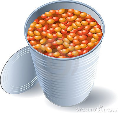 Tin of beans clipart 7 » Clipart Portal.