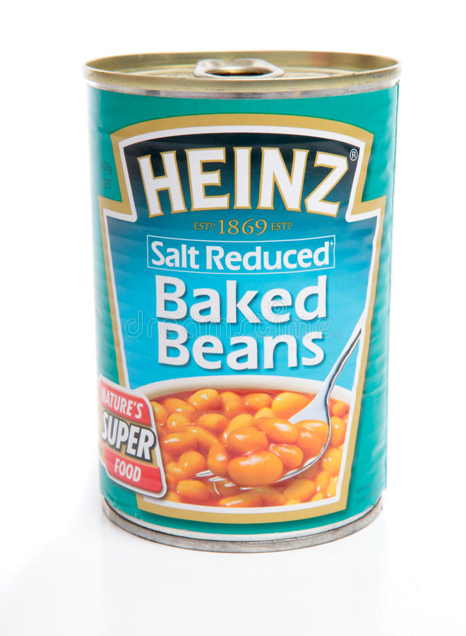 Download Tin Of Baked Beans Editorial Image. Image Of Legumes.