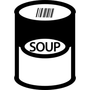 Can Of Soup Clipart.
