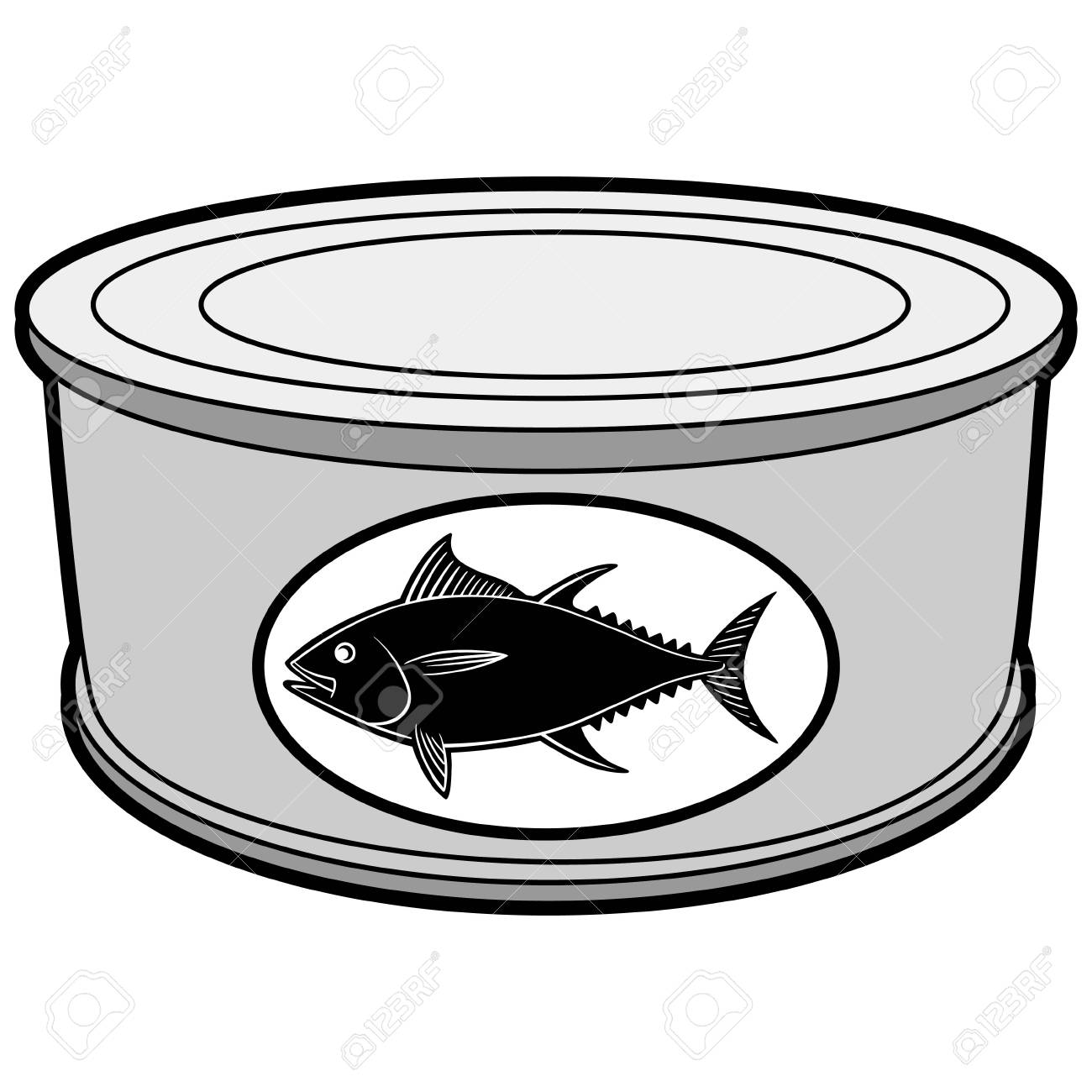 Tuna Can Clipart & Free Clip Art Images #29756.