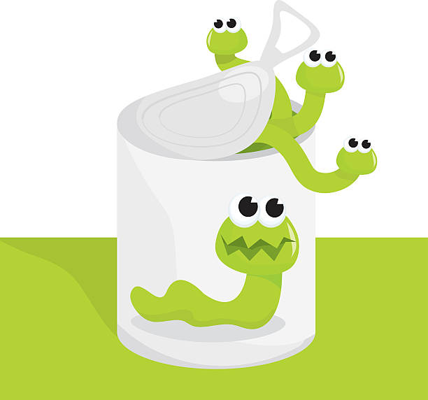 Can Of Worms Clip Art, Vector Images & Illustrations.
