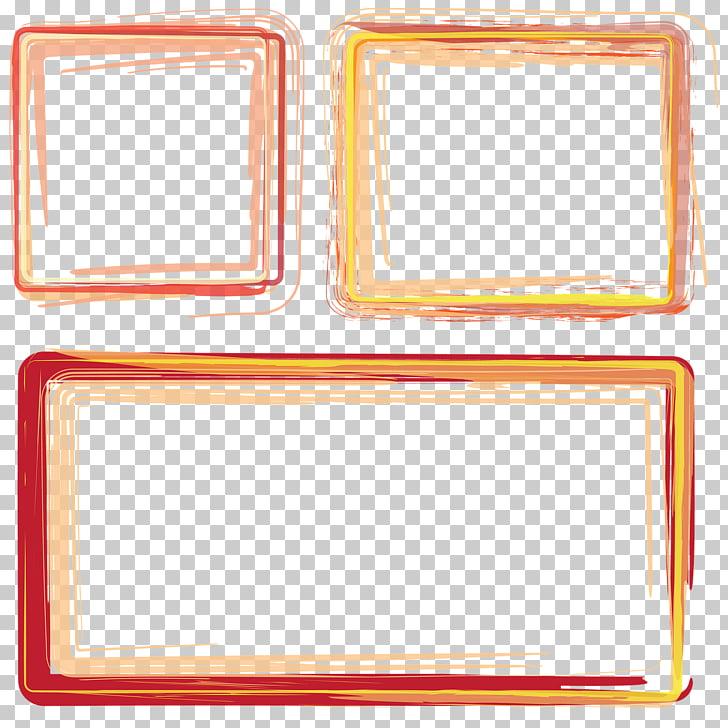 Portable Network Graphics Adobe Photoshop Open, frame orange.