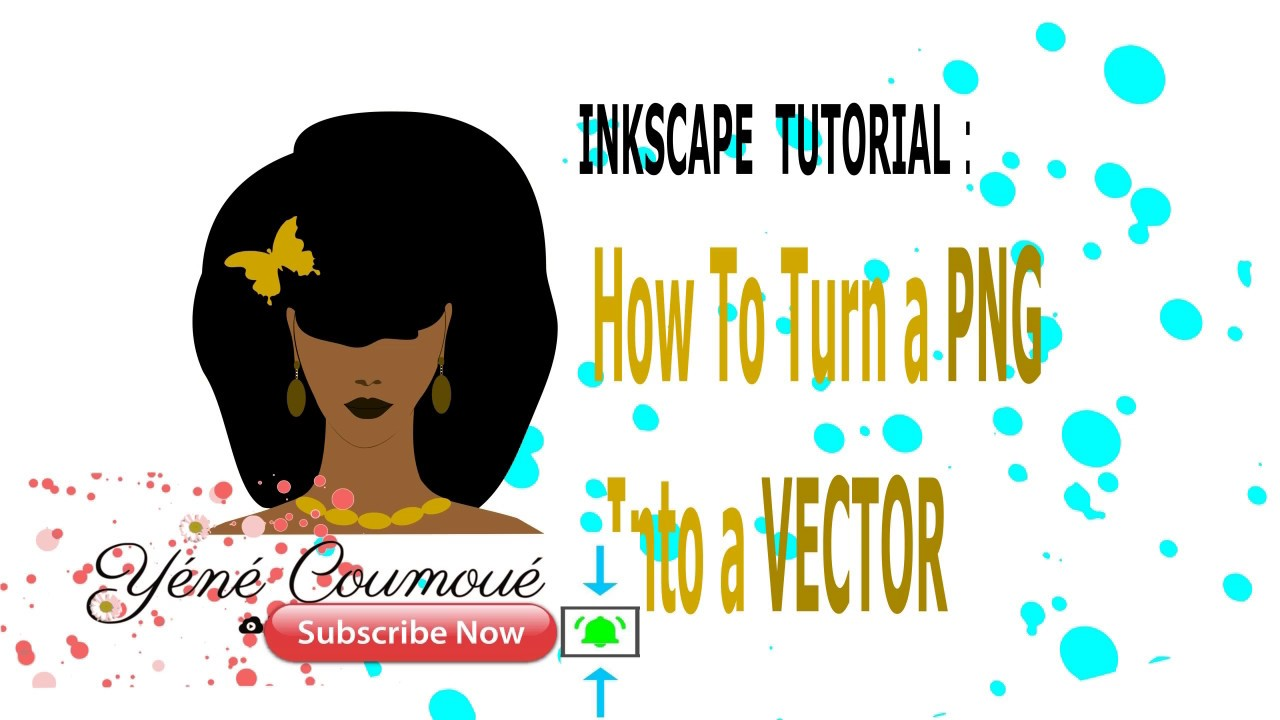 Inkscape Tutorial: How to turn a PNG Into a Vector, Convert files to svg.