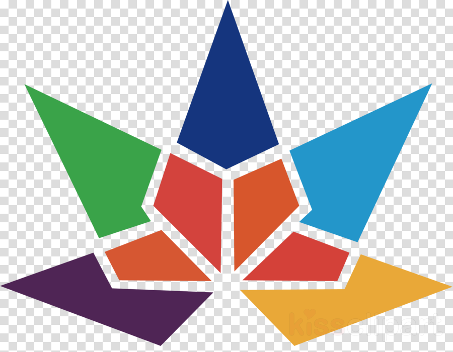 Triangle Background clipart.