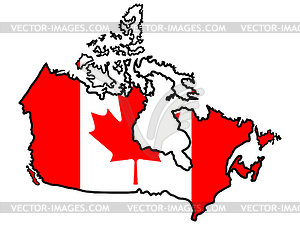 Canada clipart map.