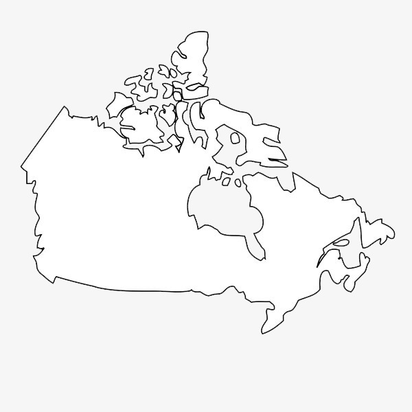 Canada clipart black and white 6 » Clipart Station.