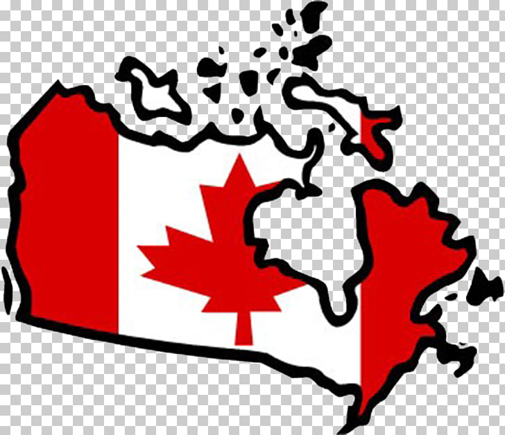 Flag of Canada , Map of Canada Maple Leaf PNG clipart.