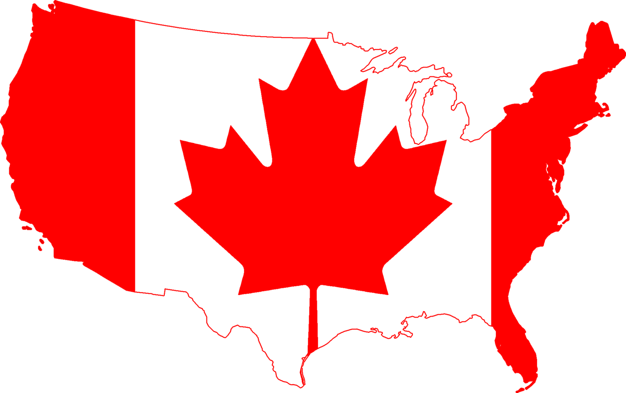 Canada Clipart Map Outline Png Clipground - Blank us map png