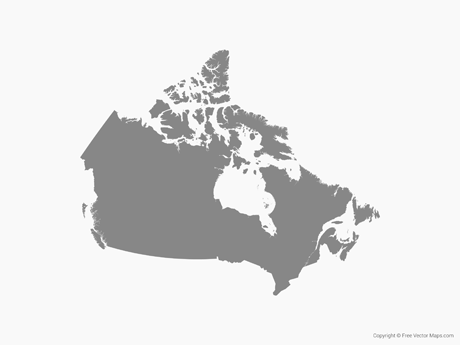 Vector Maps of Canada.