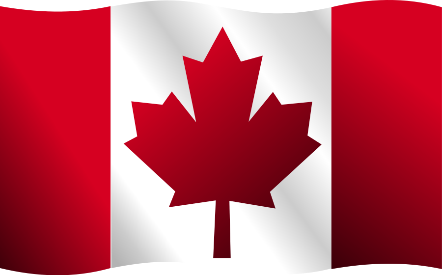 Canadian Flag Clipart Large Size.