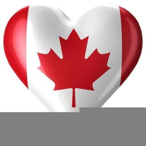 Canada Day Flags Clipart.