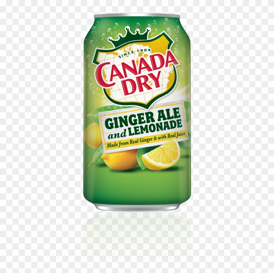 Canada Dry Ginger Ale And Lemonade.