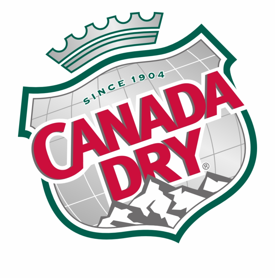 Canada Dry Logo Canada Dry Ginger Ale.
