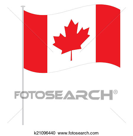 Canadian flag Clipart.