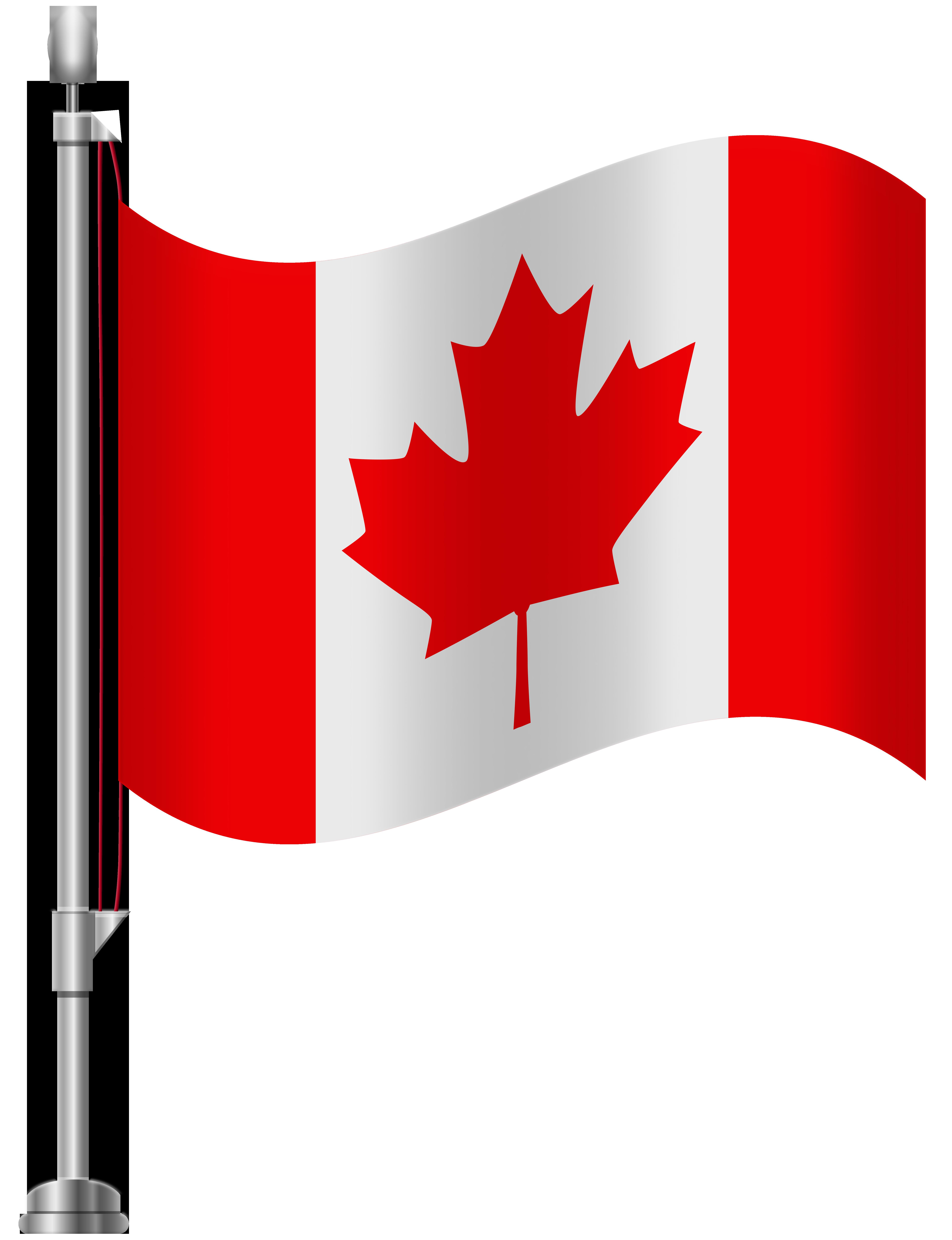 Canada Flag PNG Clip Art.