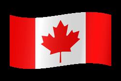 Canada flag clipart.