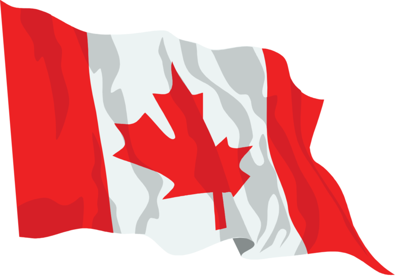 Download Free png File:Canada flag waving icon..