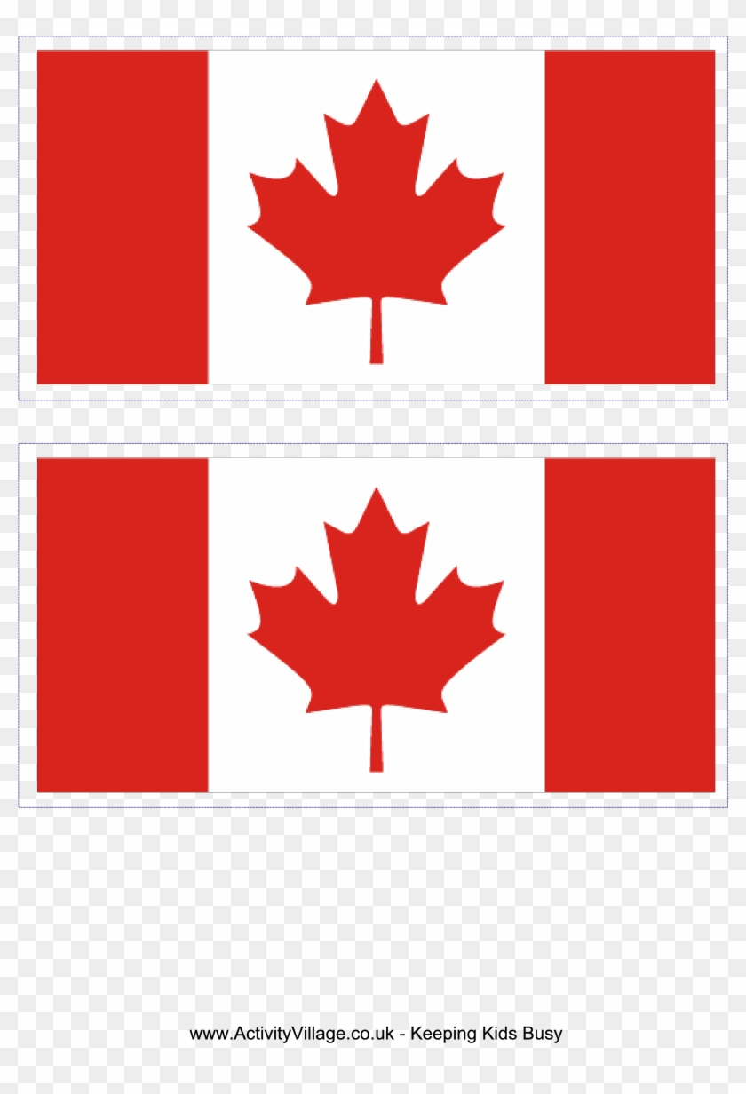 Free Printable Canadian Flag.