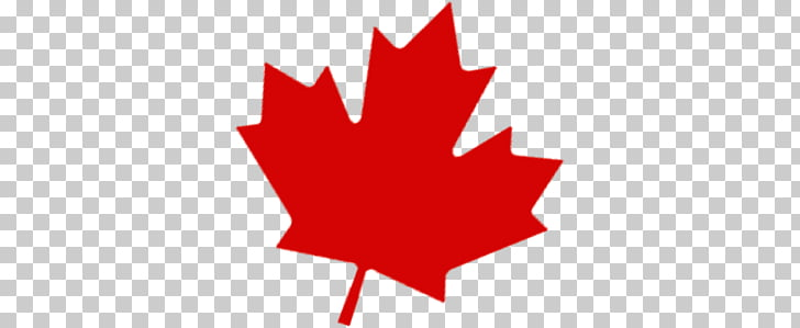 Red Maple Leaf, Canadian Maple Leaf PNG clipart.
