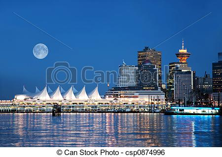 Stock Image of Canada Place, Vancouver.