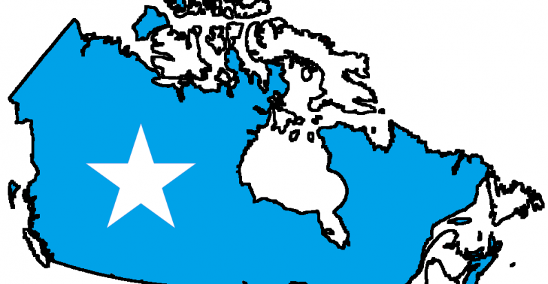 Making a Space for Somali Women in Canada by Andrea Hall.