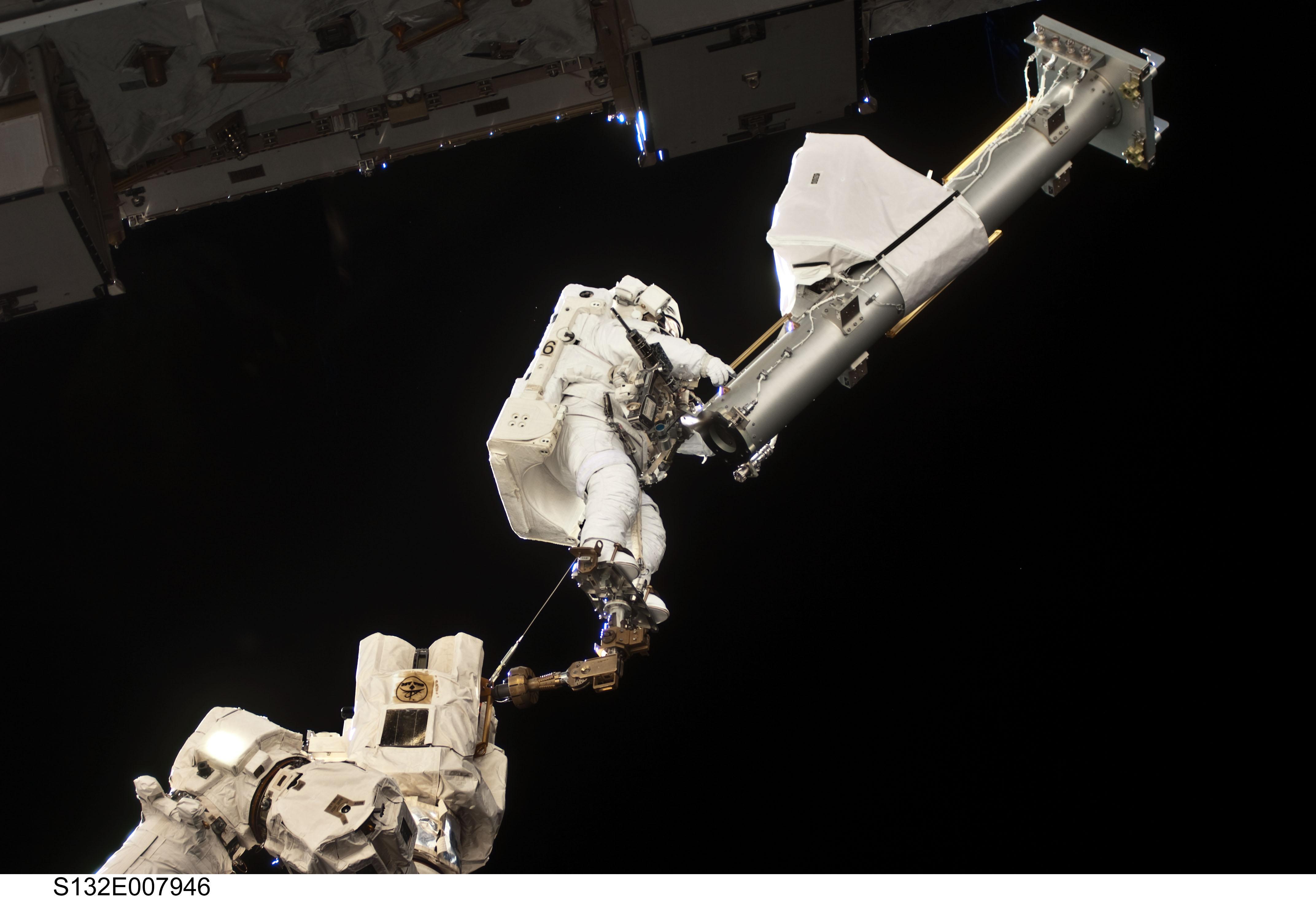 Free NASA Photo: Astronaut on Spacewalk.
