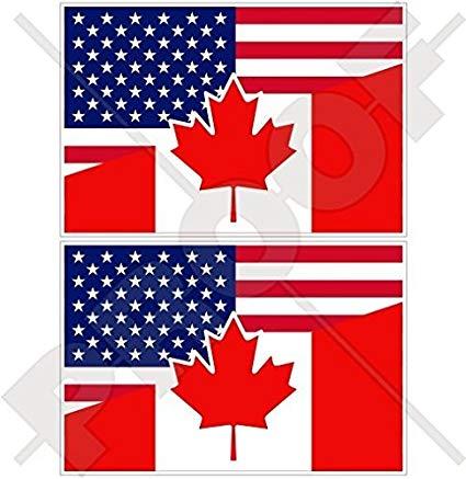 USA United States of America & CANADA American.