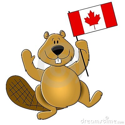 Canadian Animal Image Clipart.