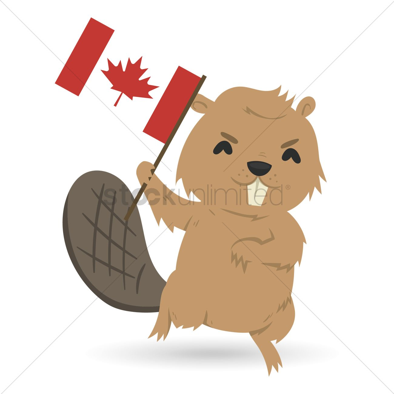 Canadian Beaver Clipart.