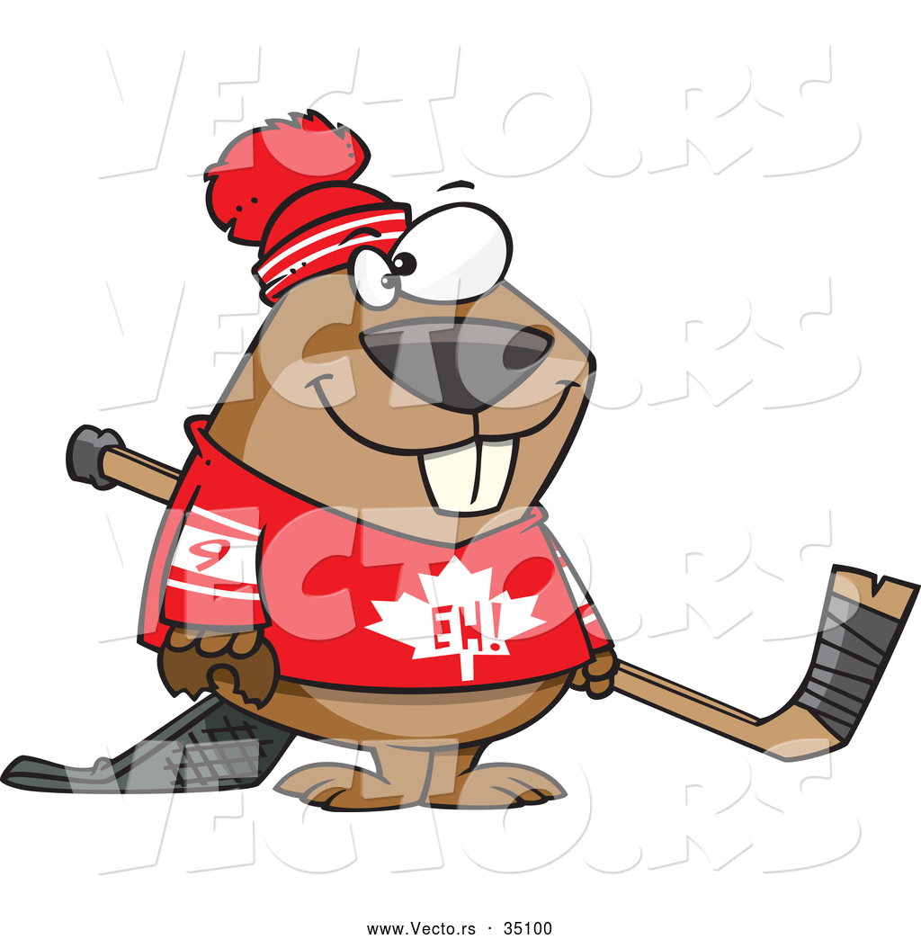 Canadian beaver clipart 12 » Clipart Station.