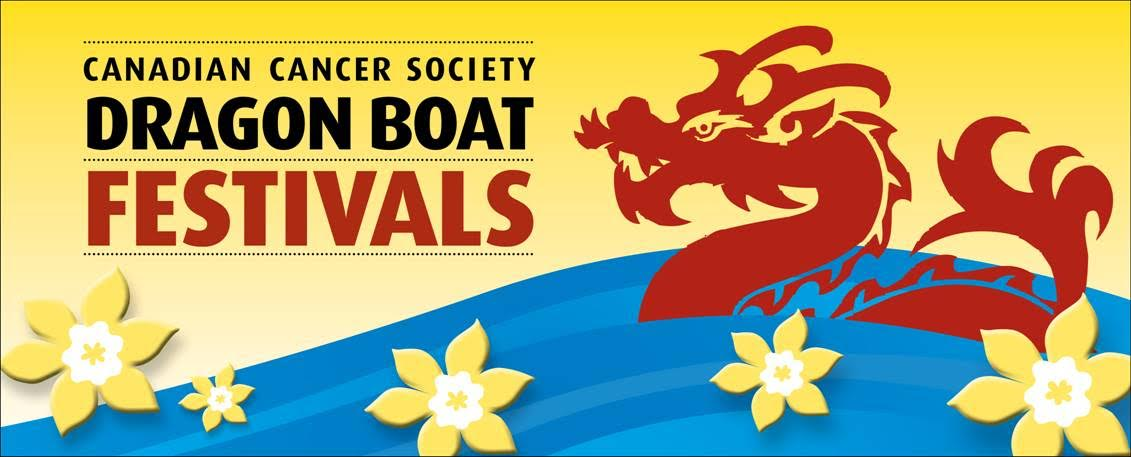 Canadian Cancer Society Canada Day Dragon Boat Festival.
