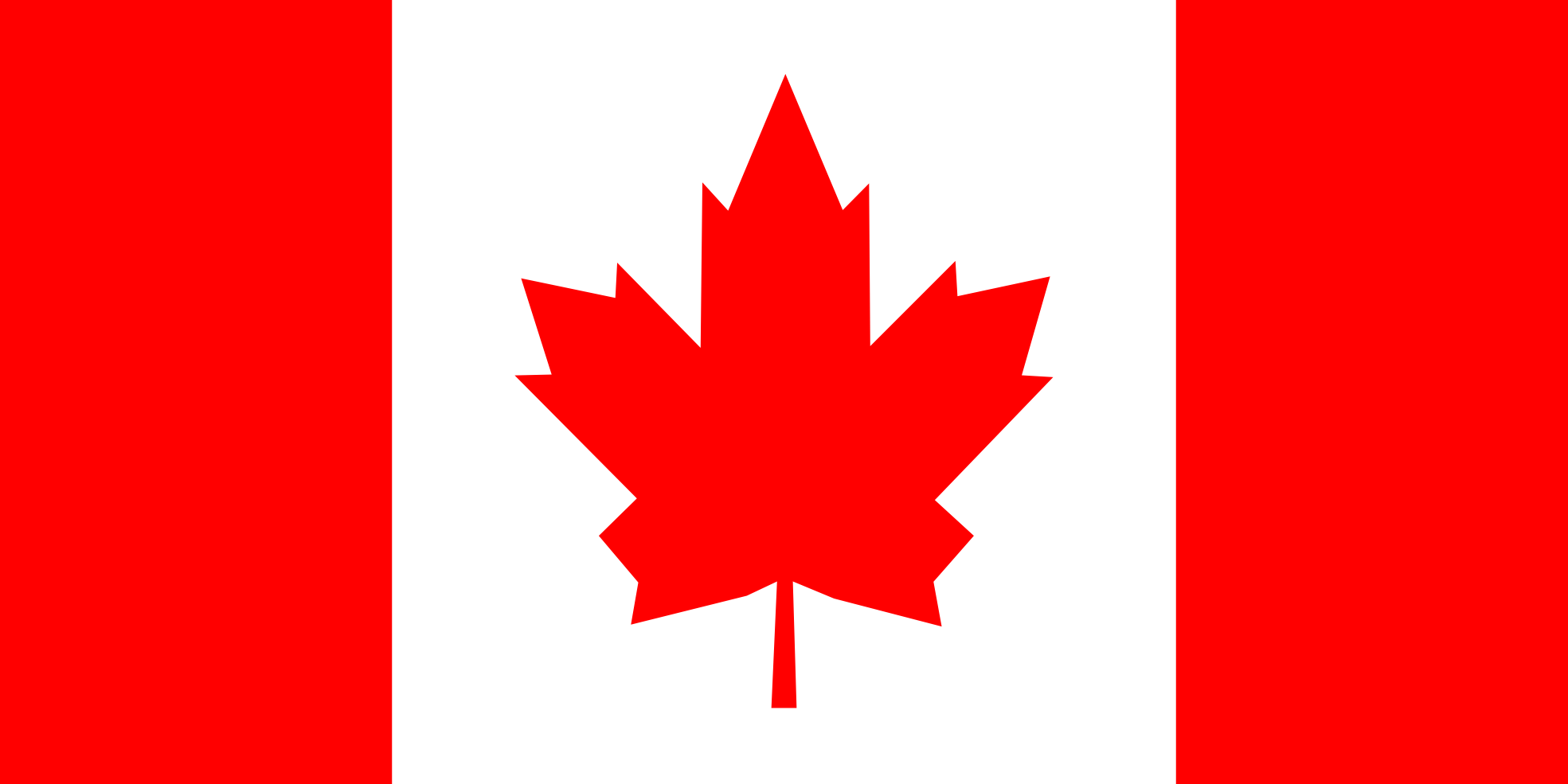 Large Canadian Flag Clipart.