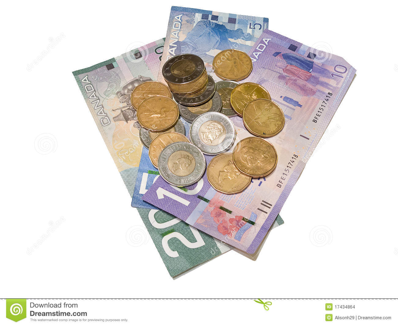 Canadian Currency Clipart & Free Clip Art Images #18561.