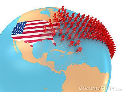 Immigration Stock Illustrations.