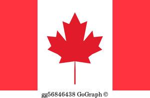 Canadian Flag Clip Art.