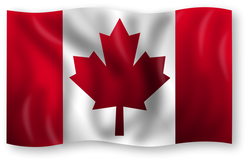 Free Clipart: Canadian Flag 8.