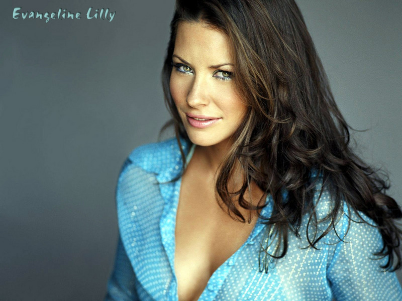 Evangeline lilly hd clipart.