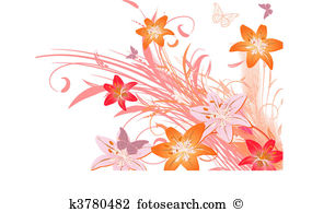 Lily Clip Art Vector Graphics. 9,212 lily EPS clipart vector and.