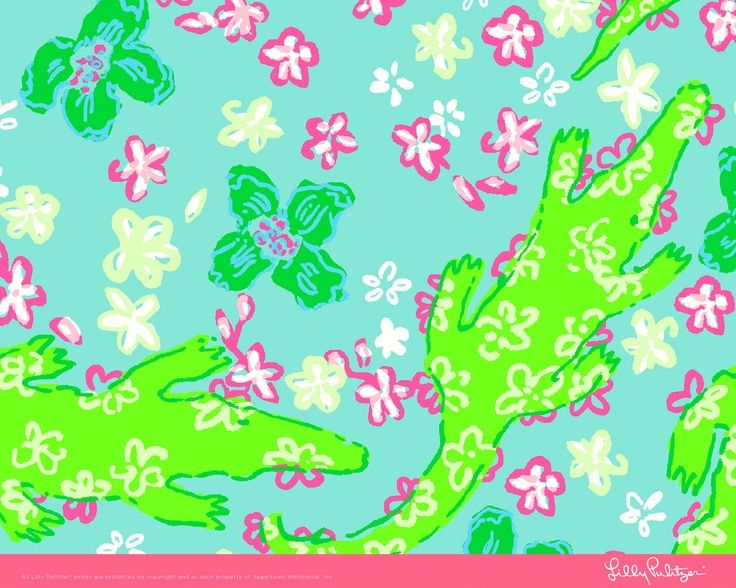 1000+ images about Lilly Pulitzer Alligator Lizard Prints on.